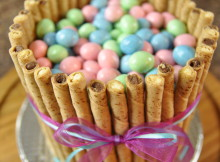 Easy Easter Basket Cake