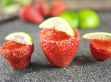 How to make Vegan Strawberry Margarita Jello Shots for Cinco de Mayo