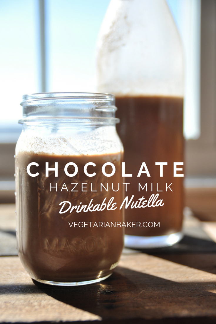 How To Make Chocolate Hazelnut Milk