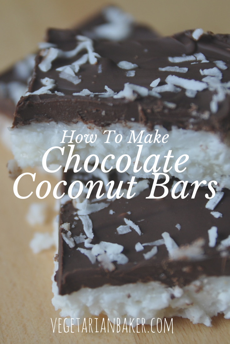 How To Make Chocolate Coconut Bars