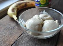Vegan Banana Peanut Butter Ice Cream | Only 2 Ingredients |