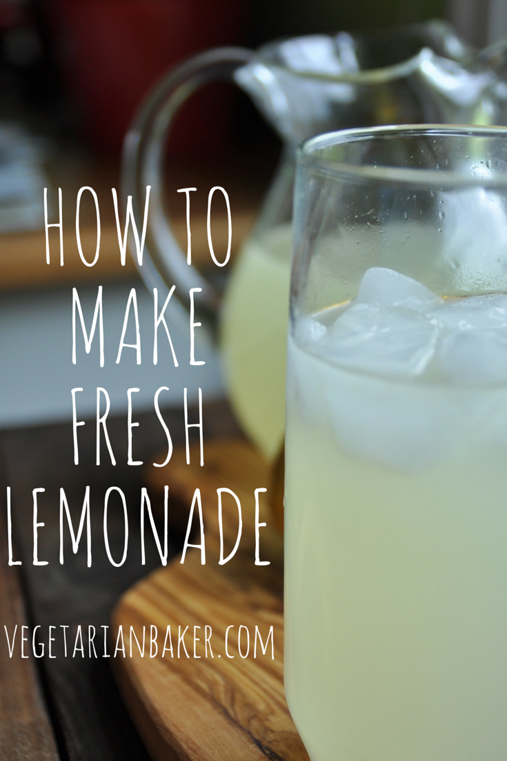 How To Make Fresh Lemonade | Perfect Summer Recipe