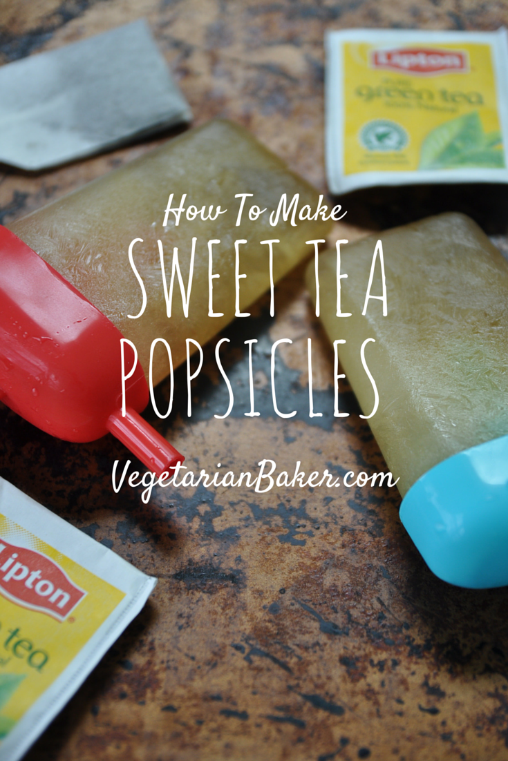 How To Make Sweet Tea Popsicles