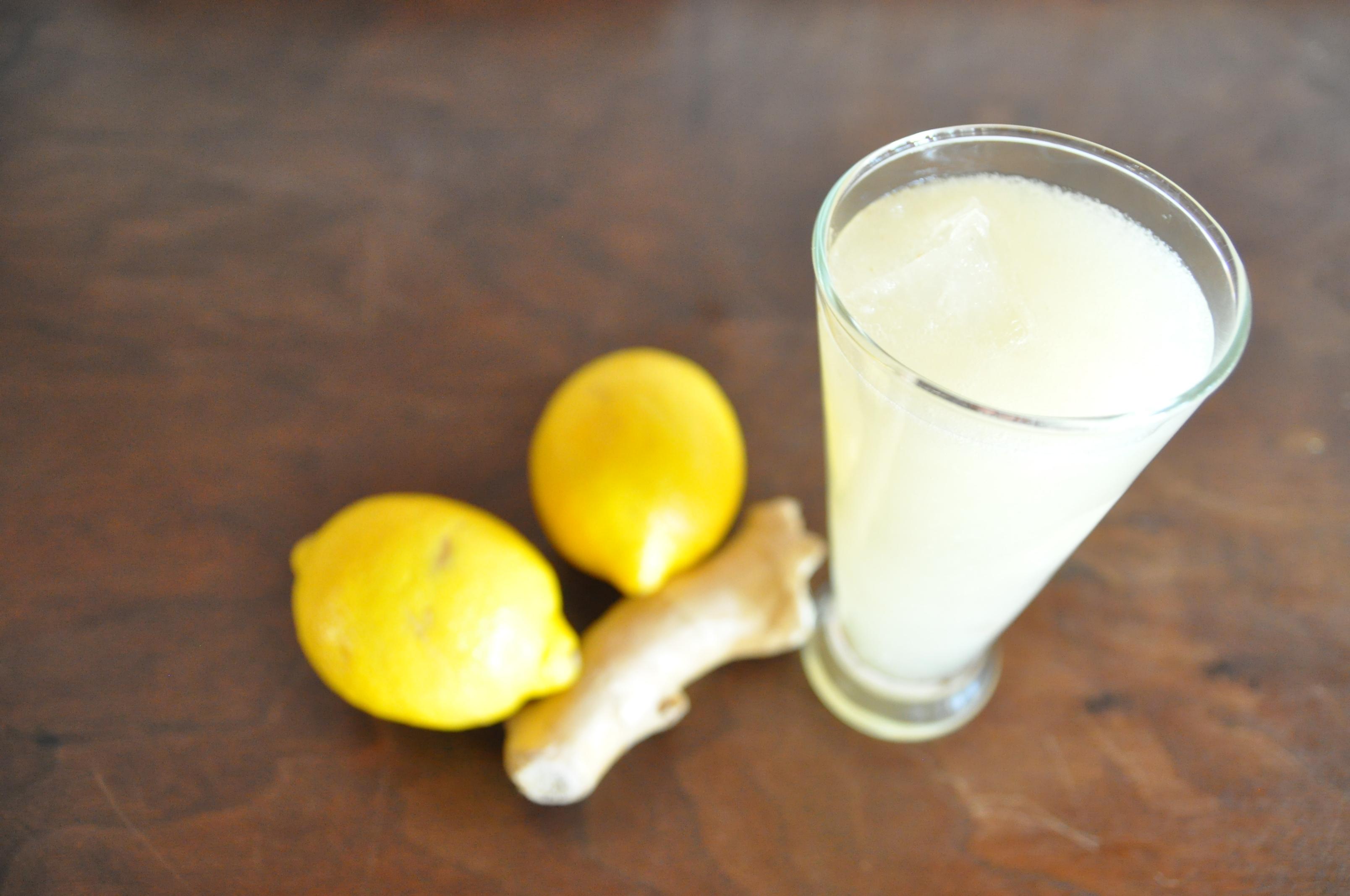 How To Make Ginger Lemonade