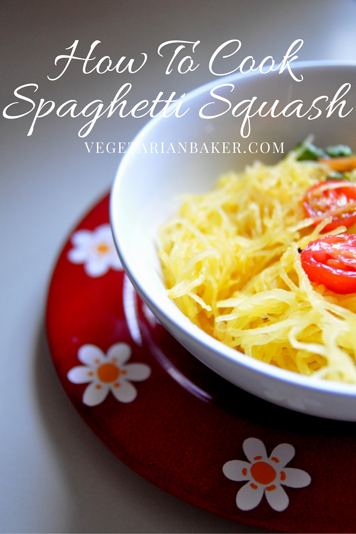 How To Cook Spaghetti Squash | Easy Vegan & Gluten-Free Recipe