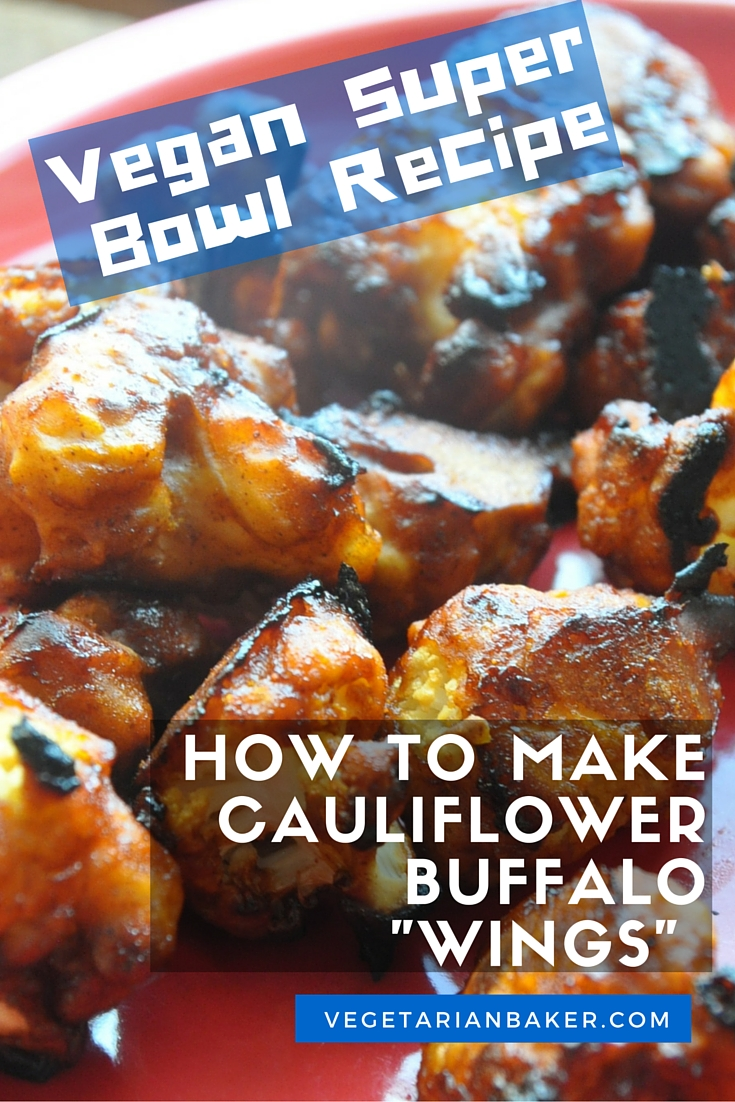 "How To Make Cauliflower Buffalo ""Wings"" 