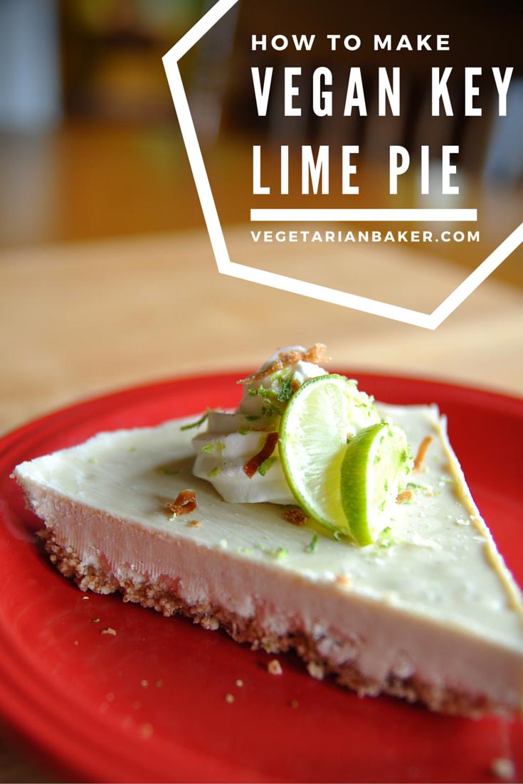 How To Make Vegan Key Lime Pie