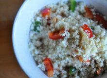 How To Cauliflower Rice & Vegan Stir Fry