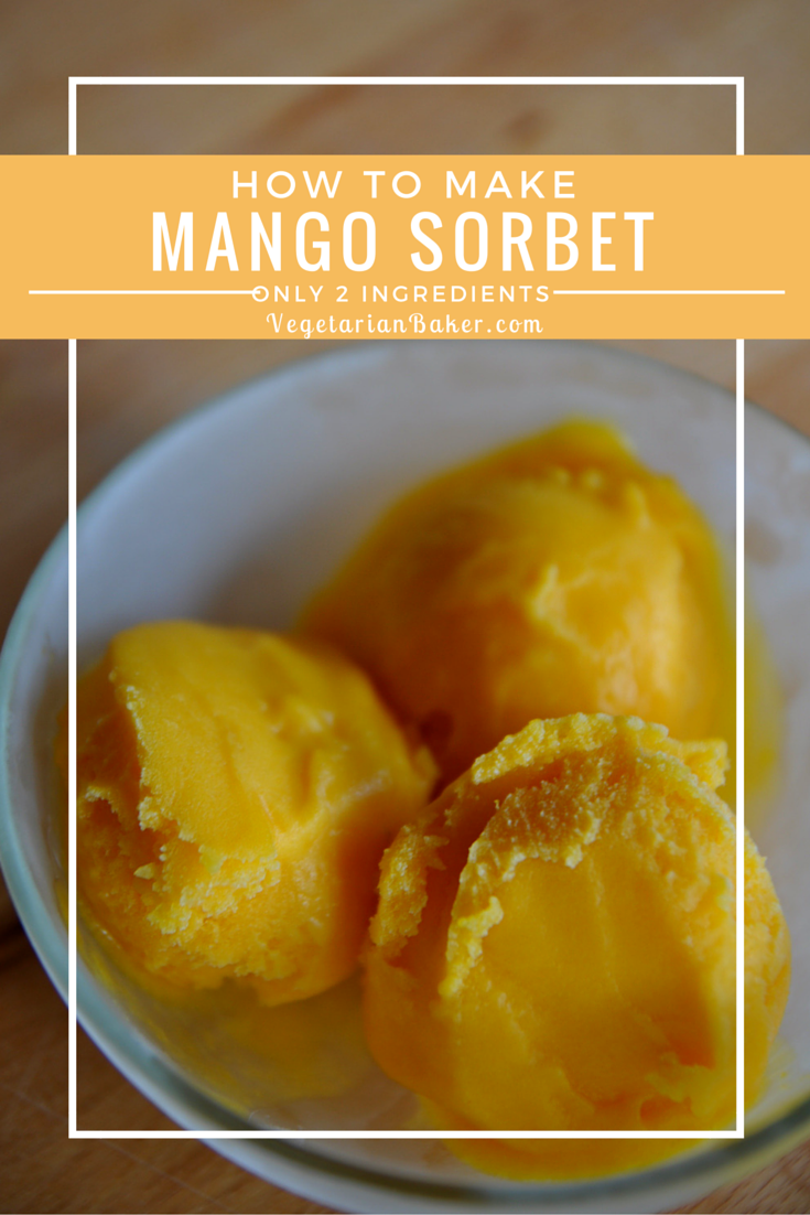 How To Make Mango Sorbet | Only Two Ingredients