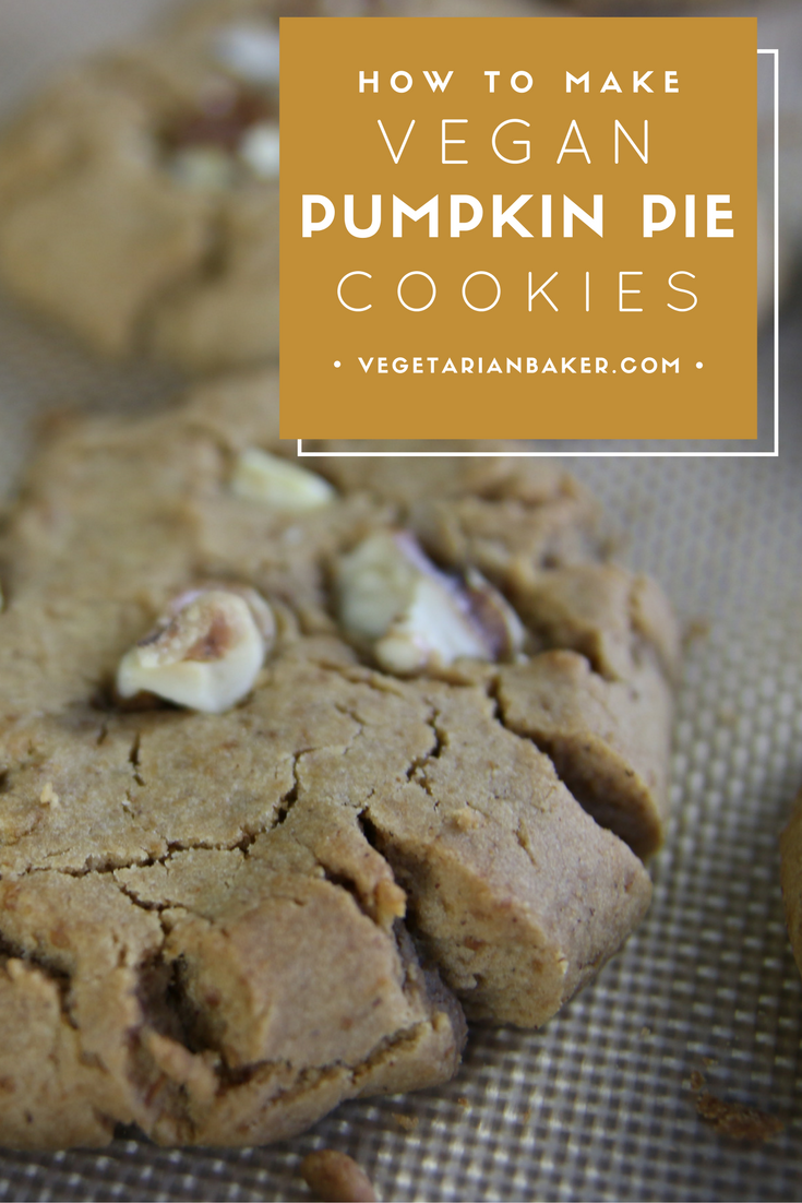 How To Make Vegan Pumpkin Pie Cookies