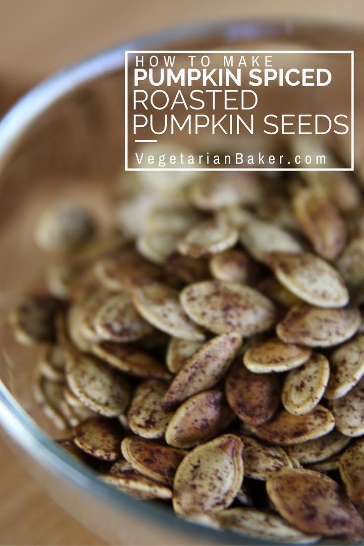 How To Make Pumpkin Spiced Roasted Pumpkin Seeds