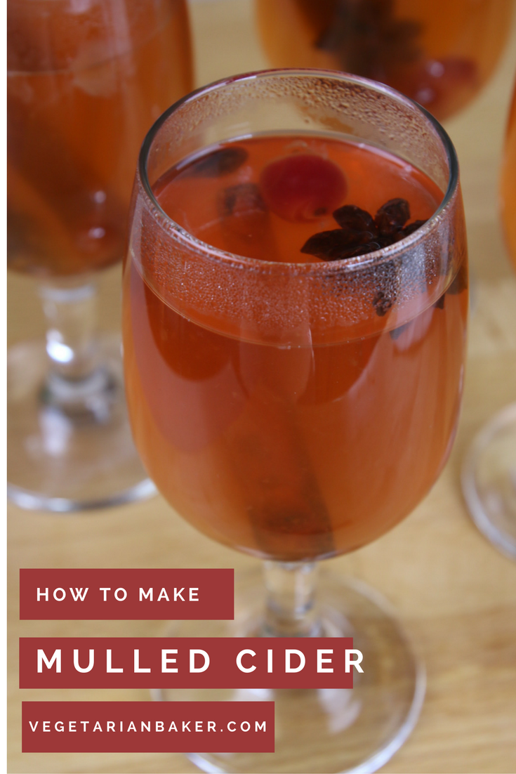 How To Make Homemade Mulled Cider | Easy Holiday Drink