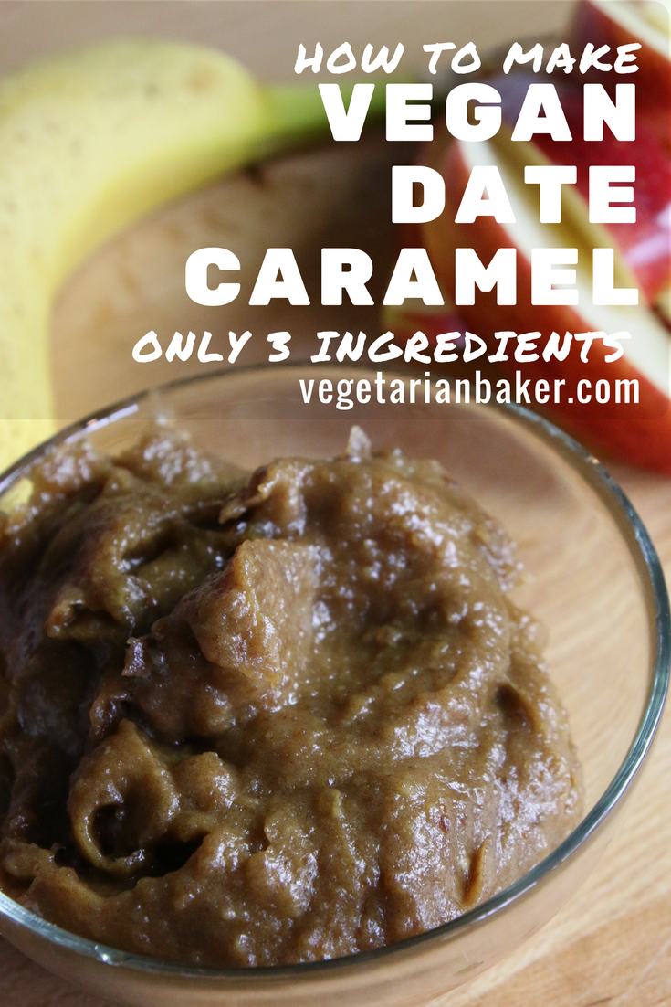 How To Make Vegan Date Caramel | Only 3 Ingredients