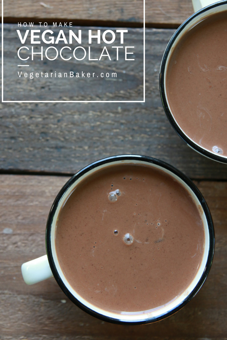 Vegan Hot Chocolate | Only 5 Ingredients