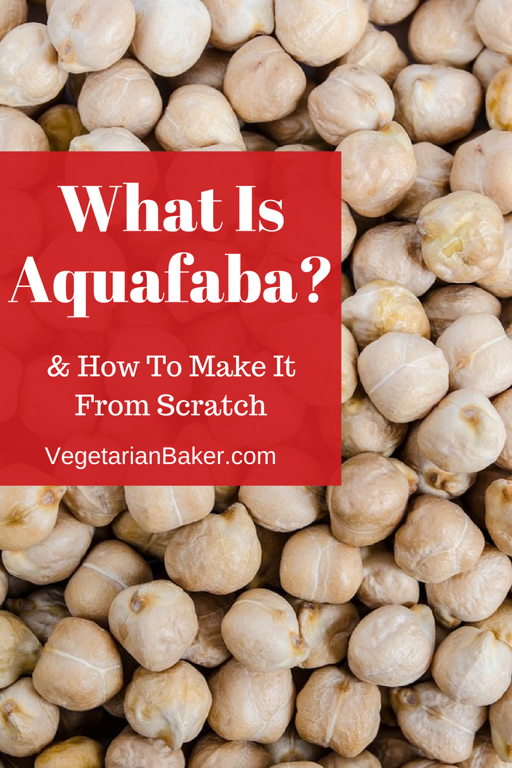 What is Aquafaba & How To Make It From Scratch? | Vegan Baking 101