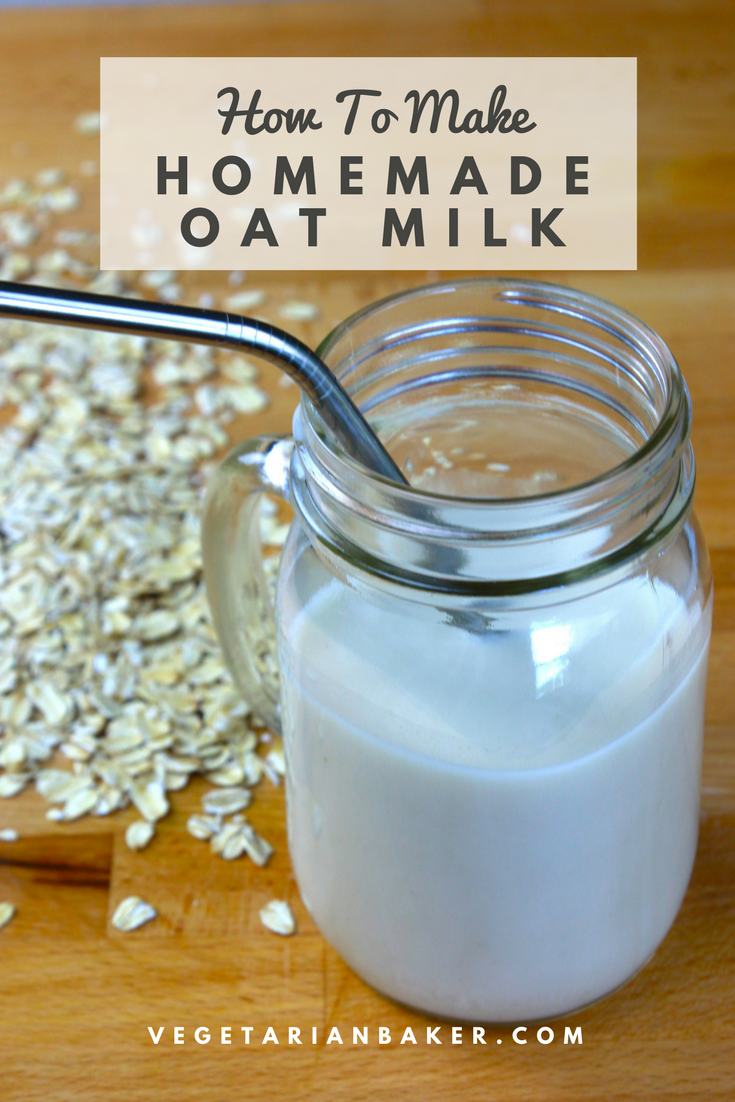 Homemade Oat Milk | Cheap & Dairy-Free